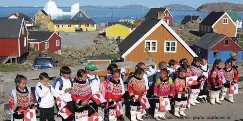 Greenland - Kalaallit Nunaat's School holiday calendar