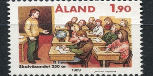 Aland Islands's School holiday calendar