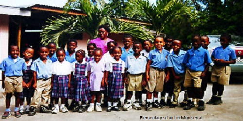 Montserrat's School holiday calendar
