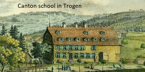 Switzerland (Appenzell Outer Rhodes)'s School holiday calendar
