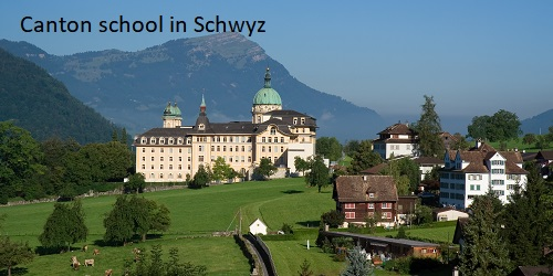 Switzerland (Schwyz)'s School holiday calendar