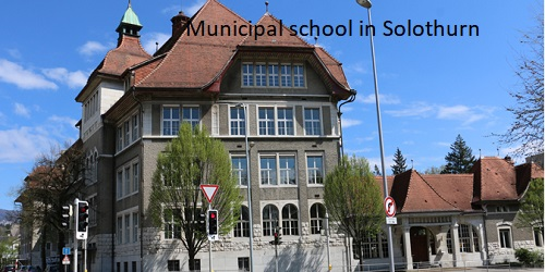 Switzerland (Solothurn)'s School holiday calendar