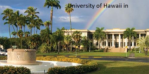 United States of America (Hawaii)'s School holiday calendar