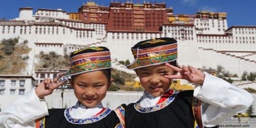 China (Tibet)'s School holiday calendar